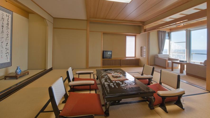 眺涛閣高階層 ◆特別室 和室二間◆