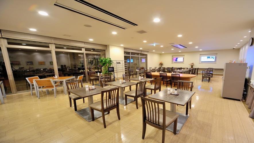 1F レストラン 和洋バイキング 営業時間6:30~09:30 最終入店09:00