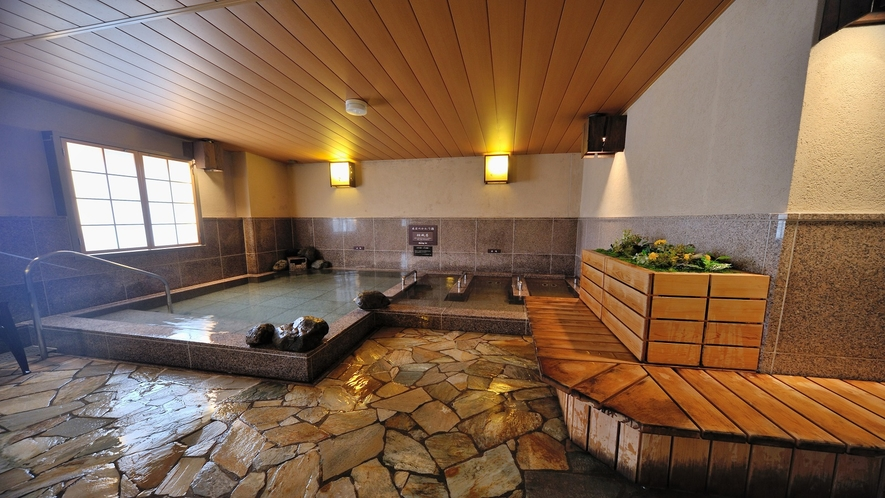 磐梯の湯 男女別大浴場