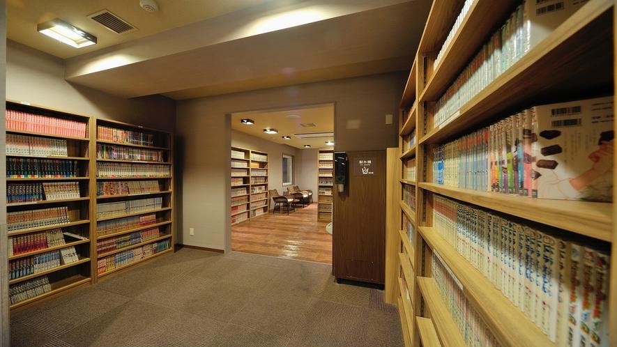 漫画コーナー 2Fお休み処 ◆約6000冊をご用意しております