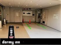♦立体駐車場は24台。完全先着順でのご案内となります。1泊1100円