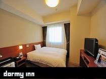 シングルルーム(140×195センチ)約13平米デスクタイプ シモンズ社製ベッド