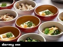 冷製小鉢【1Fレストラン朝食♦6:30~9:30(LO9:00)】