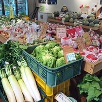 *かたしなや(直売所)/地元農家の方が心を込めて育てた朝採り野菜の直売所です。