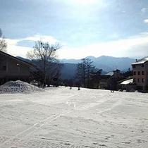 *ホワイトワールド尾瀬岩鞍(冬)/スキー、スノーボード客で賑わいます。【片品村観光協会提供】