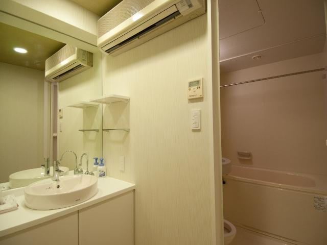 和室5人部屋 洗面所