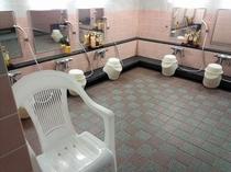 【大浴場】 洗い場