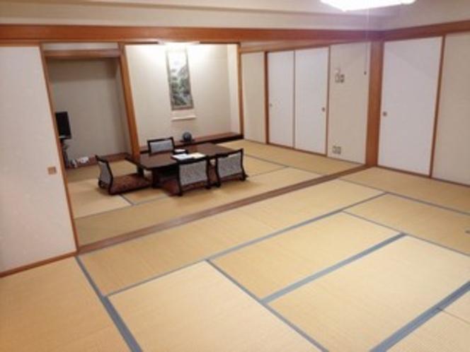 【客室】 和室12畳+10畳