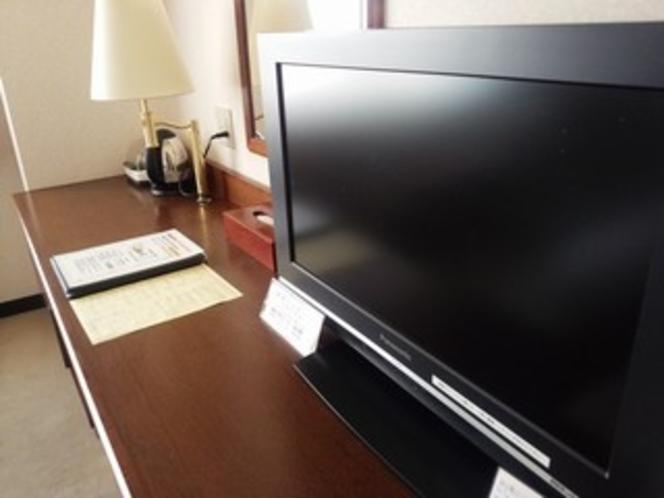 【客室】 液晶テレビ