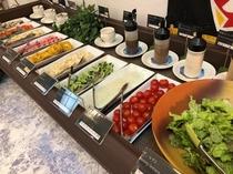 【朝食】 サラダバー