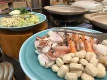 【朝食】 根室鍋