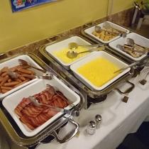 和洋40種類の朝食バイキング