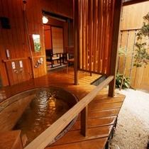 【別邸れとろ 坪庭露天付客室】タイプは2つ。お部屋・お風呂の造りが少し異なるので次回ご利用のお楽しみ