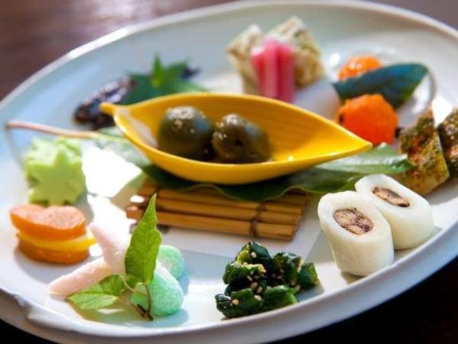【食事】季節のお料理/例