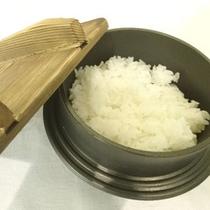 *【6月の御飯は釜飯】炊き上がりに少々お時間がかかりますが炊きたてほっかほか♪(イメージ)