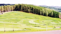 *【パークゴルフ】当館周辺では様々なアクティビティを楽しめます。
