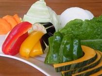 鉄板焼きのお野菜