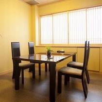 【特別室(スイート)専用個室席】お食事は食事処「志ほみ茶屋」の個室席をご用意致します。