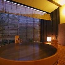 【貸切露天風呂 お宮の湯】源泉かけ流しの貸切風呂