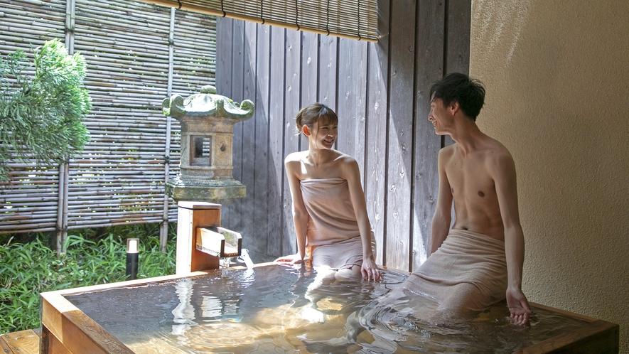 【貸切露天風呂 貫一の湯】