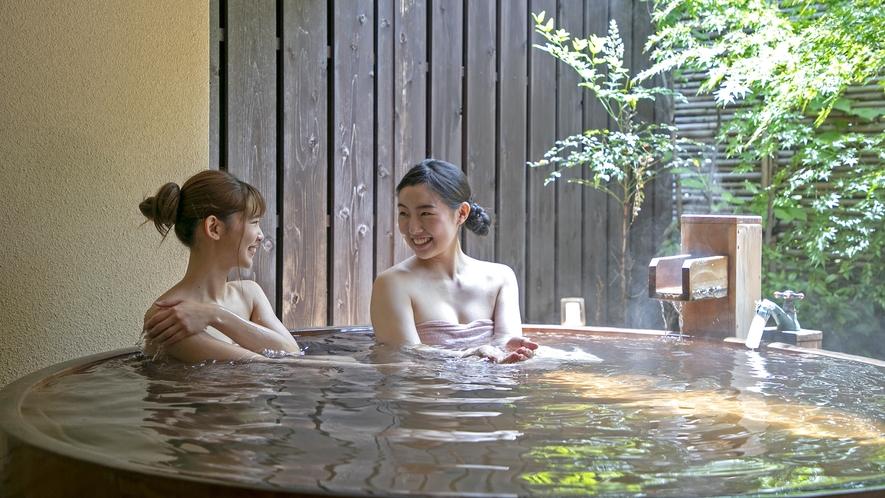 【貸切露天風呂 お宮の湯】