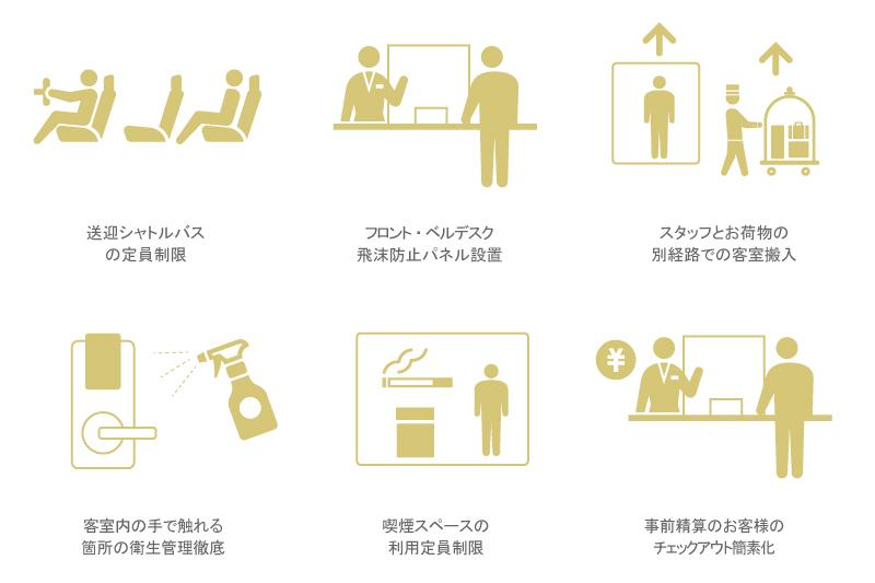 新しい生活様式と新しいホテル営業スタイル(ご宿泊)