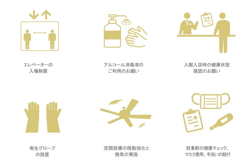 新しい生活様式と新しいホテル営業スタイル(全館共通)