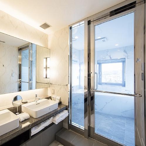 インペリアルスイートルーム バスルーム