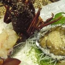 別注お料理でちょっと贅沢な海の幸