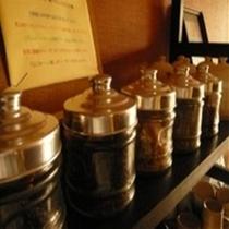 【ハーブティ・カフェ】夜はご自由にご利用いただけるカフェでのんびり♪