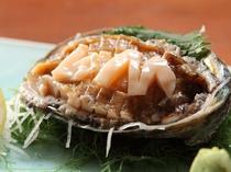 【別注料理】アワビの刺身/新鮮なアワビをご堪能ください。