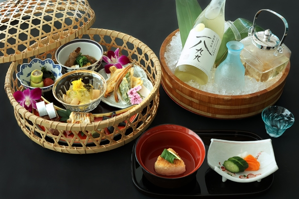 【1泊2食付】お部屋で贅沢な夕食を -オリジナル日本酒付☆-
