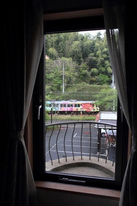 部屋からの丹後ゆめ列車II