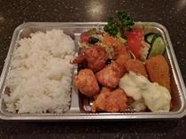 ミックスフライ弁当(夕食)