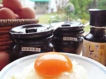 こんもり黄身の卵かけご飯