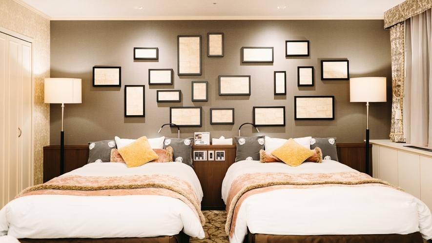 【プレシャスルーム】可愛くて華やかな客室で過ごす時間は、まるで物語の主人公