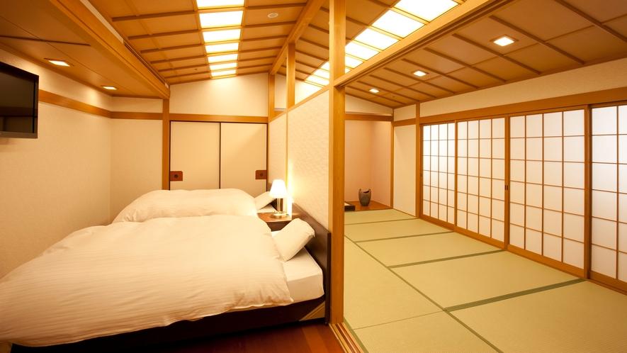 【和洋室】人気の和洋室は、最大6名様までご宿泊できます。