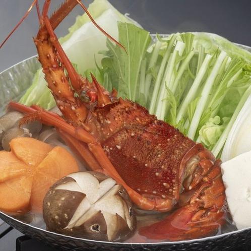 和歌山県産伊勢海老鍋