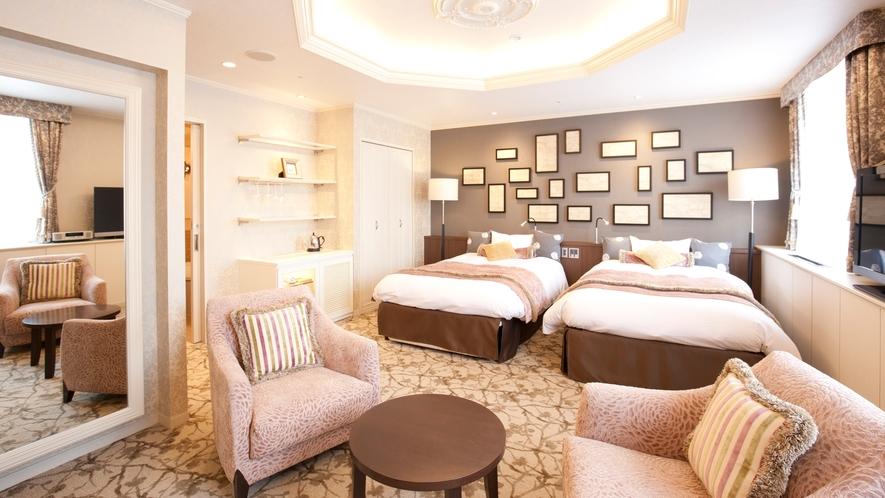 【プレシャスルーム】女性に人気のデザインルーム♪柔らかい雰囲気に優しく包まれて。