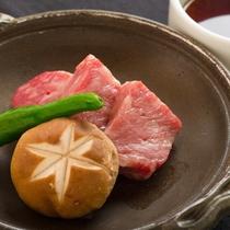 六つ葵御膳 チョイスステーキ