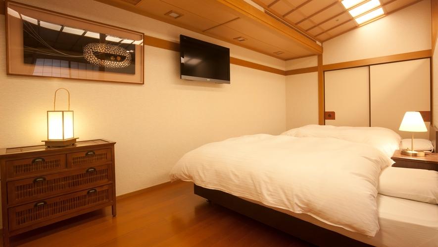 【和洋室】和室にベッドルームが付いて、二世帯・三世帯の方にも人気です♪