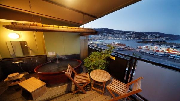 「花風館」温泉露天風呂付客室