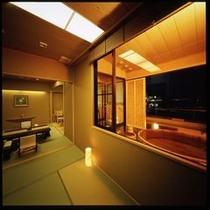 当館最上階に位置します◆露天風呂付貴賓室◆