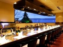 鉄板焼き「松嘉庵」、ご予約いただければ宿泊以外のお客様のご利用も承ります。