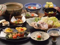 【料理・季節メニュー】(11月〜2月限定てっちりプラン一例)