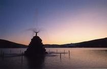 白樺湖夕景