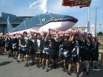 くじら祭り 大鯨神輿