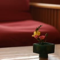 ロビーお花