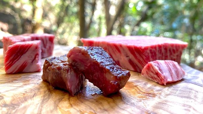 【グレードアップ】ガッツリステーキに心も体も大満足♪〜ジューシーな「ぶどう牛」を召し上がれ〜