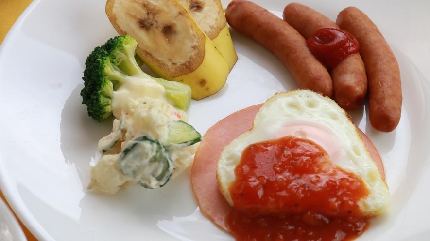 【朝食】栄養バランスのとれた洋食をご用意